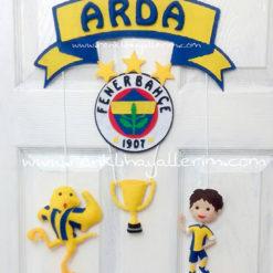 Sarı Kanarya Erkek Kapı Süsü Arda Fenerbahçe