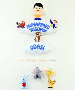 Muhammed Yusuf Çocuk Odası Kapı Süsü
