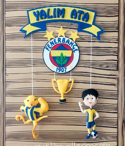 Yalim Ata Fenerbahçe Kapı Süsü Sarı Lacivert