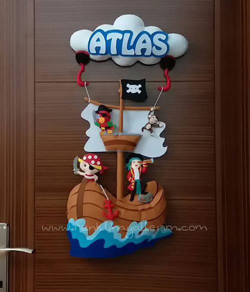 Atlas Korsan Kapı Süsü