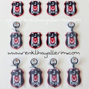 Siyah Beyaz Hediyelik Magnetler Kartal