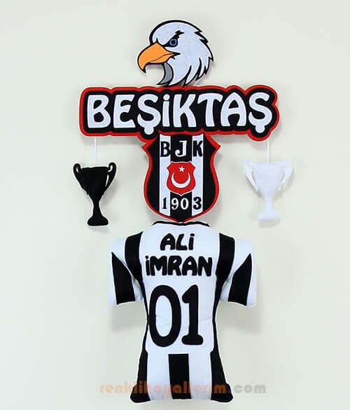 Ali İmran isimli Beşiktaş Fanatik Kapı Süsü