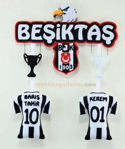 Barış Tahir ve Kerem isimli Beşiktaş Kardeş Kapı Süsü