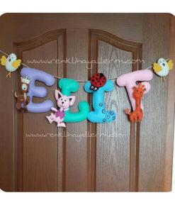 Elif isimli kapı süsü