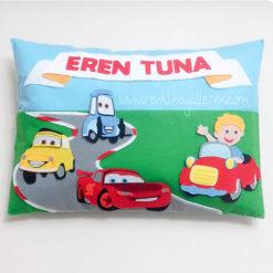 Eren Tuna Arabalar Takı ve Süs Yastığı