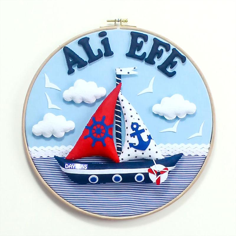 Ali Efe isimli Denizci Kasnak Bebek Kapı Süsü
