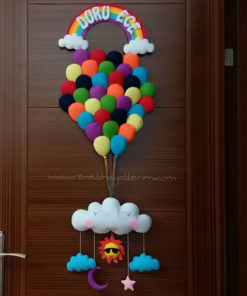Duru Ege Balonlar Kapı Süsü