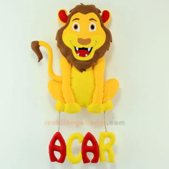 Acar isimli Aslan Bebek Kapı Süsü Galatasaray