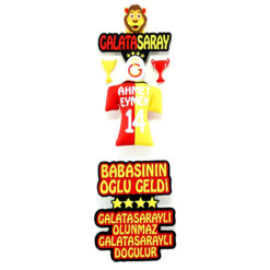 Ahmet Eymen Galatasaray Bebek Odası Kapı Süsü