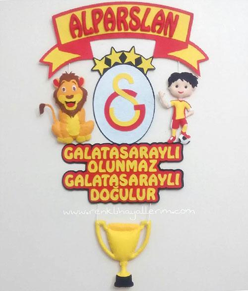 Alparslan Cimbom Galatasaray Kapı Süsü