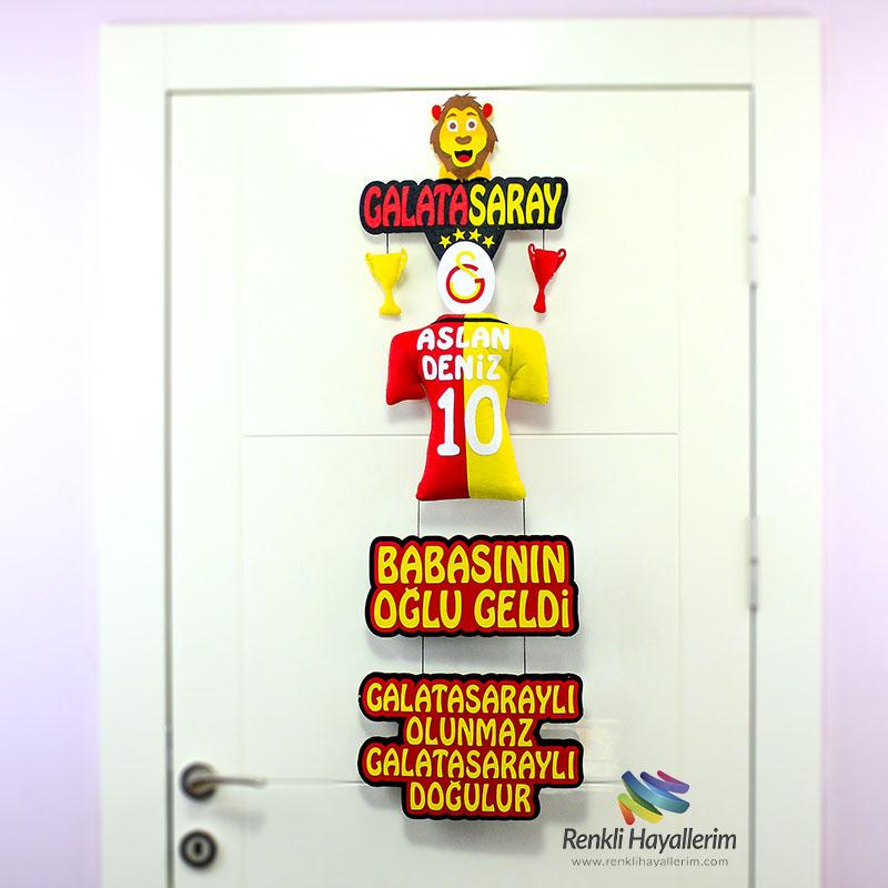Aslan Deniz Galatasaray Bebek Odası Kapı Süsü