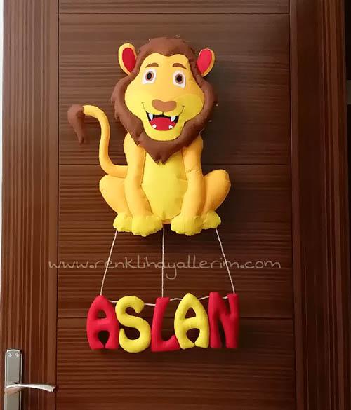 Aslan Galatasaray Kapı Süsü Hediye - Aslan Kapı Süsü