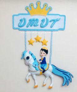 Atlı Prens isimli kapı süsü Umut Bebek