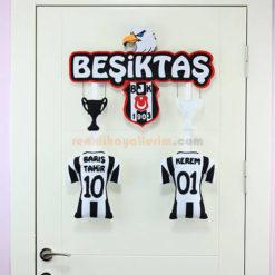 Barış Tahir ve Kerem isimli Kardeş Beşiktaş Kapı Süsü