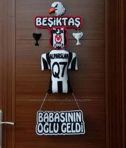 Beşiktaş Q7 Kapı Süsü - Kara Kartal - Beşiktaş Kapı Süsü