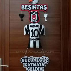 Beşiktaş Kapı Süsü - Kara Kartal