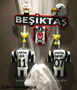 Beşiktaş Kardeş Kapı Süsü - Kartal