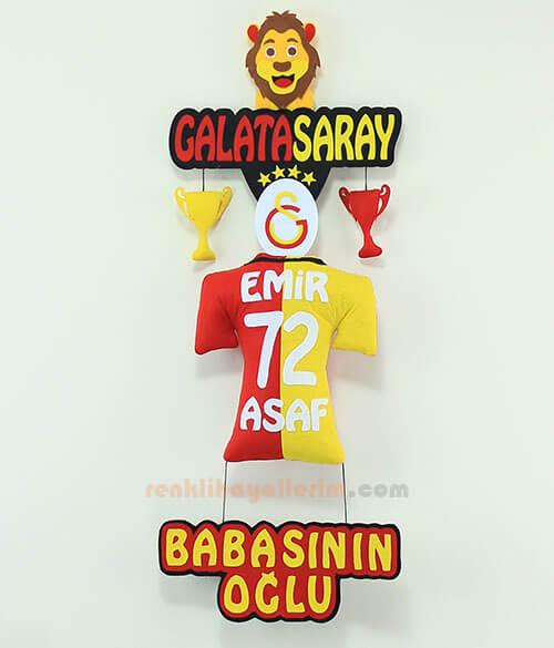 Emir Asaf isimli Galatasaray Bebek Kapı Süsü