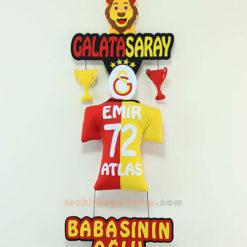 Emir Atlas isimli Galatasaray Kapı Süsü