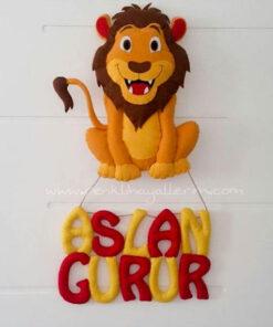 Gurur isimli aslan galatasaray kapı süsü