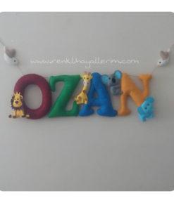 Ozan isimli kapı duvar süsü