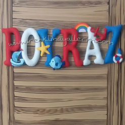 Poyraz isimli kapı süsü