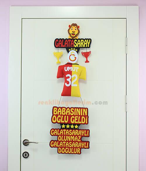 Umut isimli Galatasaray Bebek Kapı Süsü