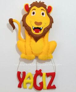 Yağız isimli aslan galatasaray kapı süsü