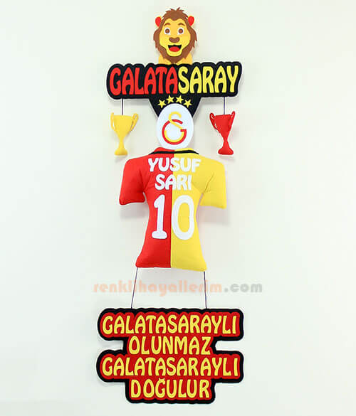 Yusuf isimli Galatasaray Kapı Süsü
