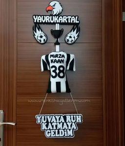 Yavru Kartal Kapı Süsü - Beşiktaş Kapı Süsü