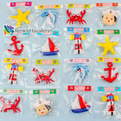 Denizci Bebek Keçe Magnet