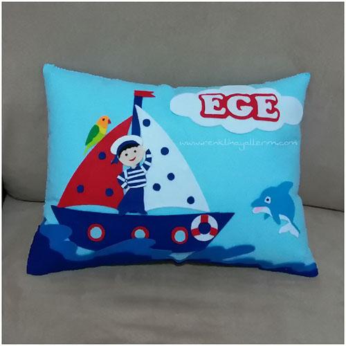 Ege isimli denizci takı yastığı