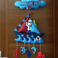 Haluk Alp Trabzonspor Kapı Süsü