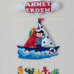 Ahmet ERDEM Mirza bebek isimli denizci kapı süsü