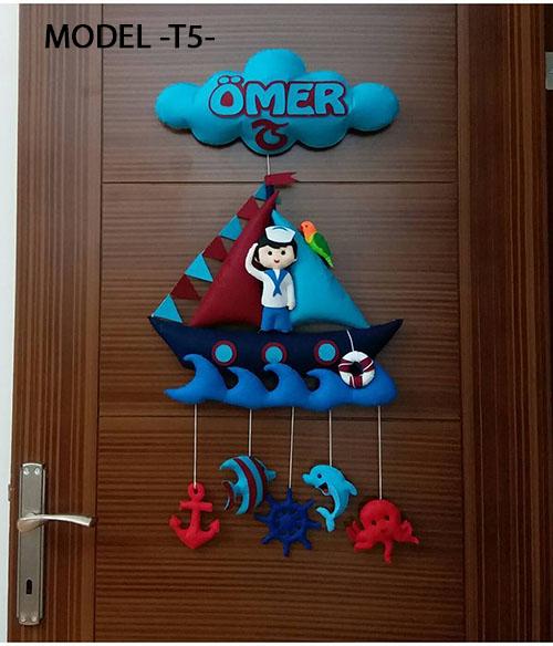 Ömer bebek isimli denizci kapı süsü
