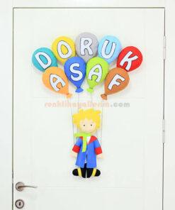 Doruk Asaf isimli Küçük Prens Kapı Süsü