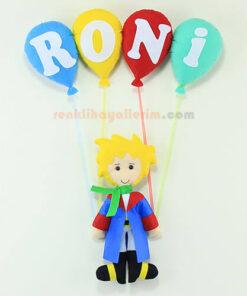 Roni isimli Küçük Prens Bebek Kapı Süsü