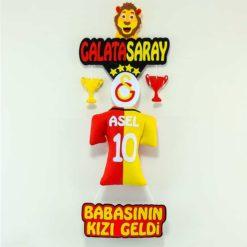 Asel isimli Galatasaray Kapı Süsü