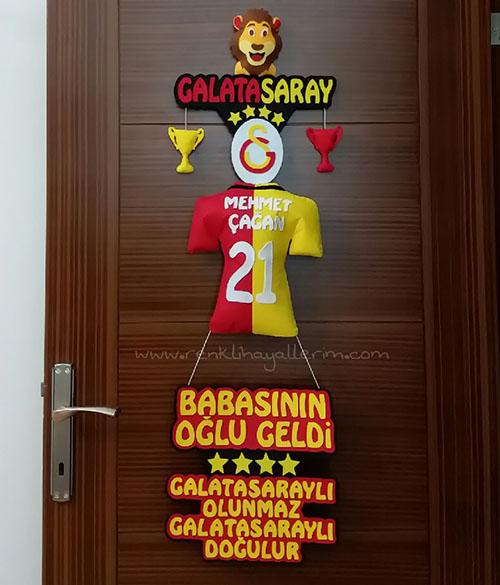 Mehmet Çağan isimli Galatasaray Kapı Süsü
