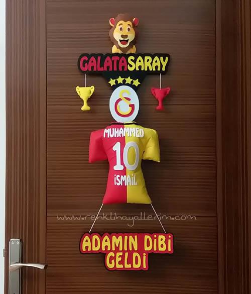 Muhammed Sarı Kırmızı Kapı Süsü Galatasaray