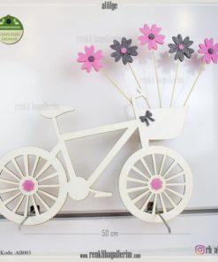 Ahşap Dekoratif Bisiklet - AB003