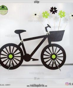 Ahşap Dekoratif Bisiklet - AB005