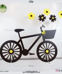 Ahşap Dekoratif Bisiklet - AB009
