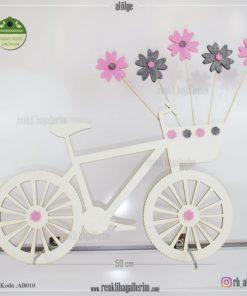 Ahşap Dekoratif Bisiklet - AB010