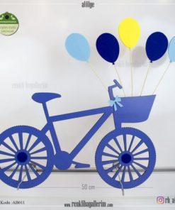 Ahşap Dekoratif Bisiklet - AB011