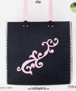 Keçe Kol Çantası - CK005 , hediye , kol çantası