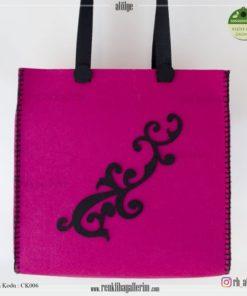 Keçe Kol Çantası - CK006 , hediye , kol çantası