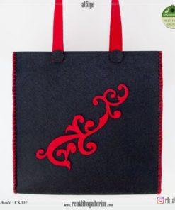 Keçe Kol Çantası - CK007 , hediye , kol çantası