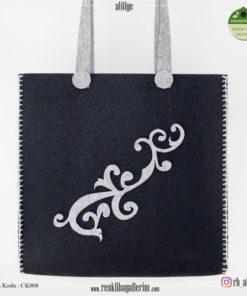 Keçe Kol Çantası - CK008 , hediye , kol çantası