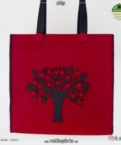 Keçe Kol Çantası - CK012 , hediye , kol çantası